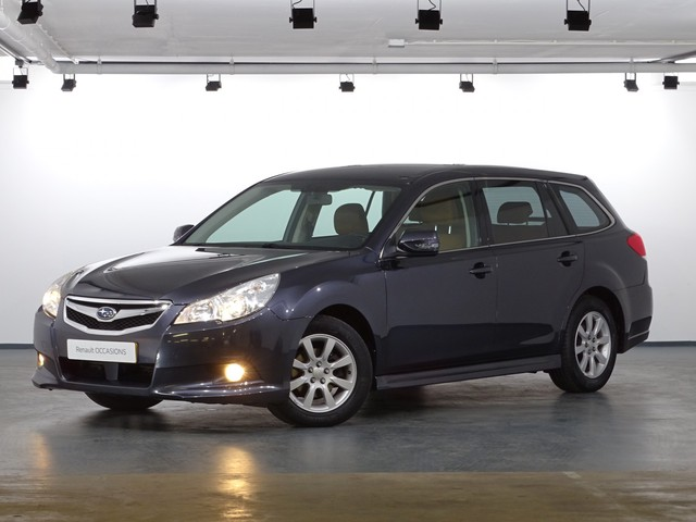 Subaru Legacy Touring Wagon Automaat 2.0I Luxury Navig., Climate, Trekhaak, 16''Lichtm. velg., DVD-systeem, Leer