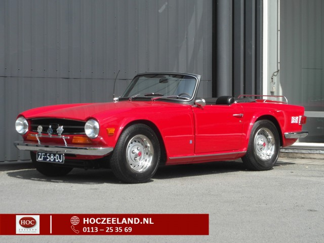 Triumph TR6 SOFT TOP | Top staat