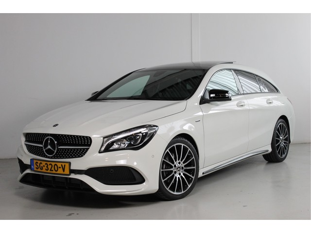 Mercedes-Benz CLA-Klasse Shooting Brake 180 WhiteArt Edition Line: AMG Automaat