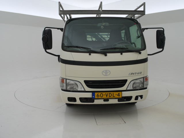 Toyota Dyna 150 2.5 D4-D PICK-UP DUBBEL LUCHT + AIRCO   HIAB KRAAN