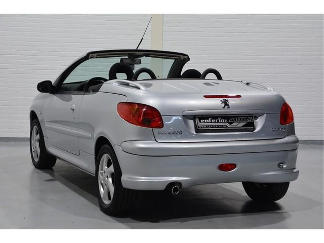 0800 Autolening Peugeot 206 Cc 1 6 16v Cabrio 110pk Elektrische