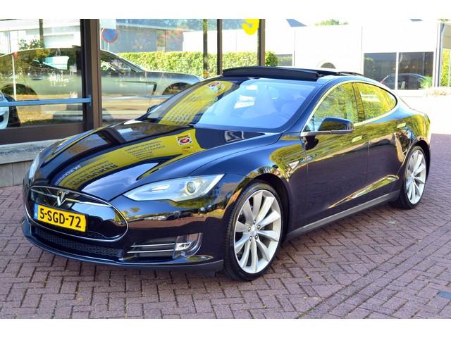 Tesla Model S 85 BASE 368 PK  LEDER  PANORAMADAK  NAVIGATIE  VOL OPTIES!