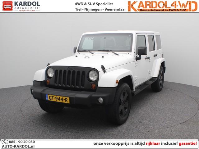 Jeep Wrangler Unlimited 2.8 CRD Sahara 5-Persoons   Rijklaarprijs