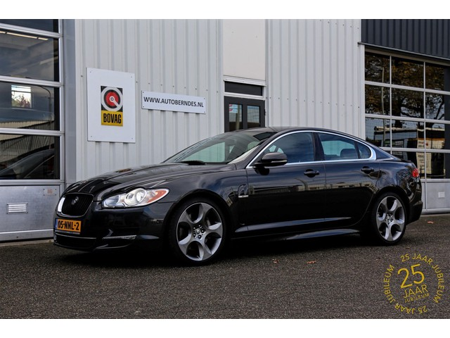 Jaguar XF 3.0D S V6 275PK Portfolio 75TH Edition*Perfect dealer onderh.*NL-Auto*Aerodynamic pack**Keyless entry LED Navi Gelooid leder Dod
