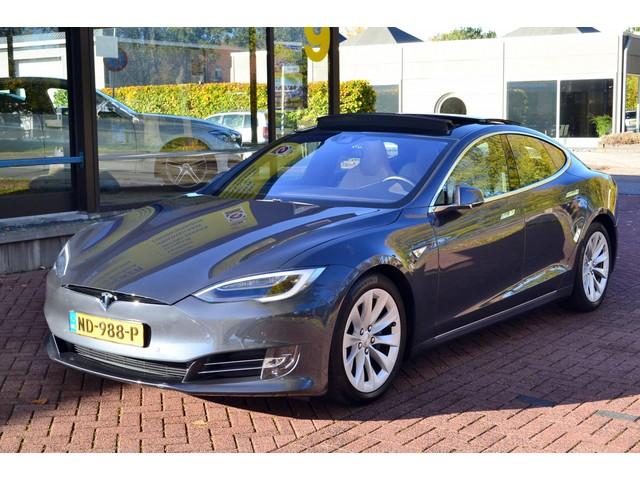 Tesla Model S 90D Base AUTOPILOT II   AUTOMAAT  LEDER  PANORAMADAK  VOL OPTIES! PRIJS EX. BTW.