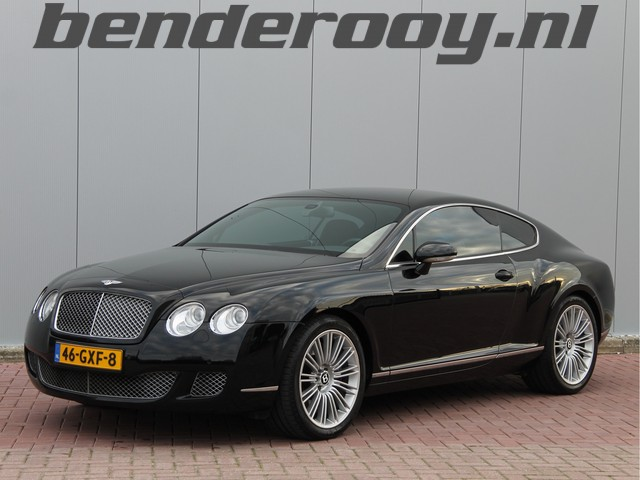 Bentley Continental GT 6.0 W12 611PK GT Speed