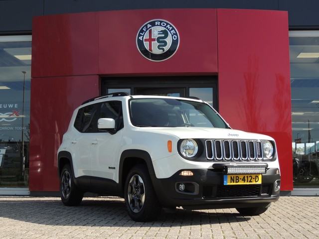 Jeep Renegade 1.4 Turbo 140pk AUTOMAAT Longitude Plus Navi | Cruise