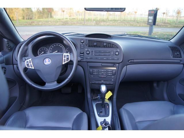 Saab 9-3 Cabrio   Automaat 1.8t Grijs Leder   LMV   PDC   Stoelverwarming  