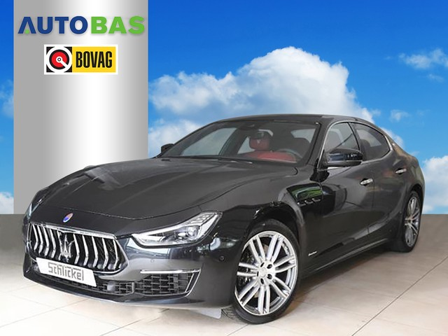 Maserati Ghibli 3.0 V6 D GranLusso 275PK 360° CAMERA 20''LM LED NAVI VOL OPTIES!