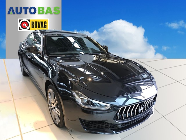 Maserati Ghibli 3.0 V6 D MY18 NAVI 20'' LED 275PK Business Pakket Maserati dealer auto
