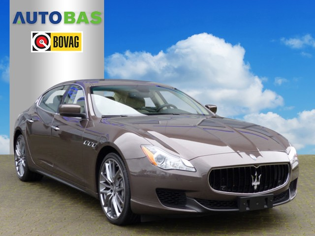 Maserati Quattroporte 3.0 D 275PK XENON NAVI ABS VOL OPTIES!