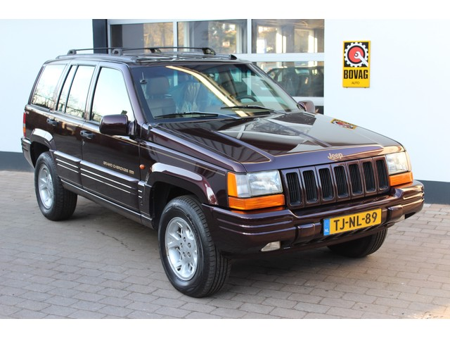 Jeep Grand Cherokee 4.0 I AUT 4WD Limited BTW auto   Youngtimer