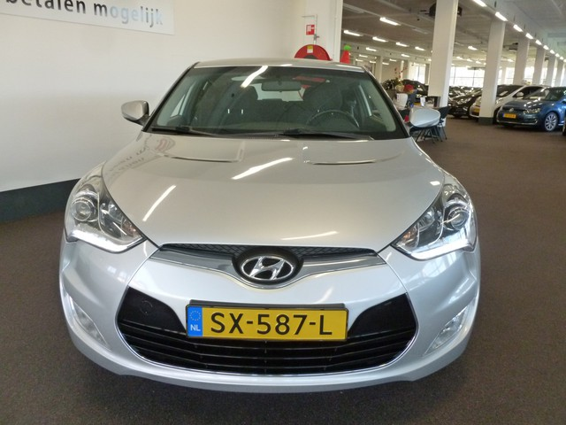 Hyundai Veloster 1.6 GDI I-VISION Climate controle Cruise controle LED-dagrijverlichting A.S. Zondag geopend van 12:00-17:00 uur!