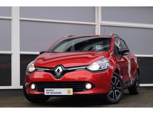 Renault Clio Estate 1.5 dCi 90pk Expression 14% bijtelling! Navig., Airco, 16