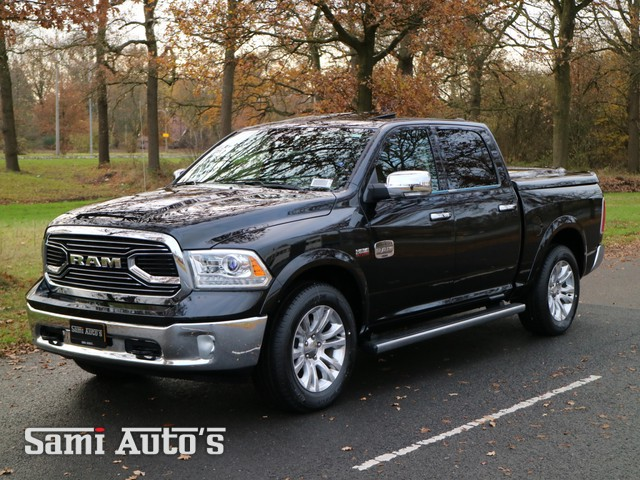 Dodge Ram 1500 | LONGHORN | All-in prijs | Luchtvering | Cattle Tan Leather | 5.7 V8 HEMI 401 PK | 4X4 | Crew Cab 5'7 |