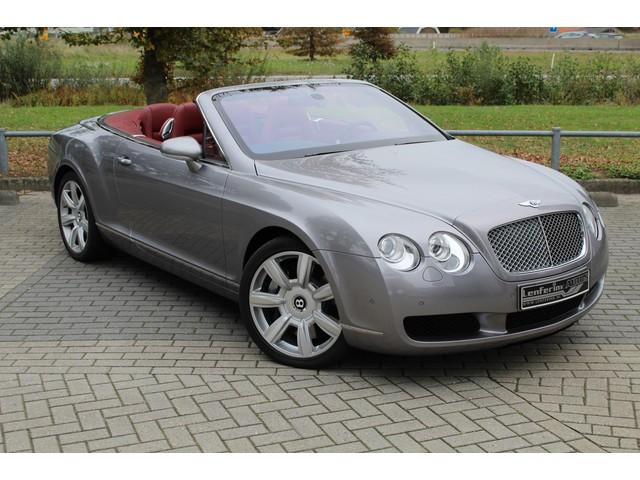 Bentley Continental GTC - Cabrio 6.0L W12 560PK Navi, Cruise, Clima, Stoelverwarming