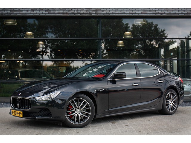 Maserati Ghibli 3.0 S Q4 , 411PK, Bi-xenon, Leer, NL-auto, 1ste eigenaar,