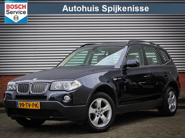 BMW X3 3.0d High Executive Leder   Navigatie   Sportstoelen