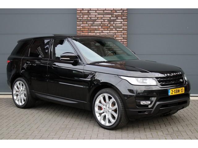 Land Rover Range Rover Sport 3.0 TDV6 HSE Dynamic Aut8, Luchtvering, Panoramadak, Navigatie, Camera, Bi-Xenon, Keyless-Go, Leder, Stoelverwarming, Stuurwielv