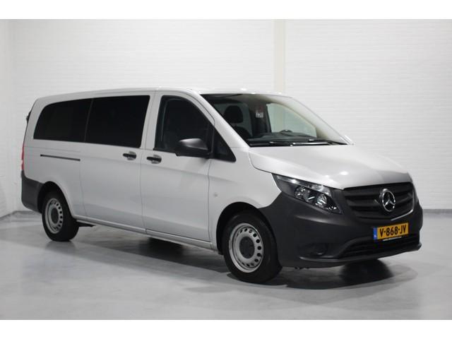Mercedes-Benz Vito 114 CDI 136pk XL Dubbel Cabine, Navi, Airco, Leder, 6 Zitplaatsen, v.a. 299,- p mnd