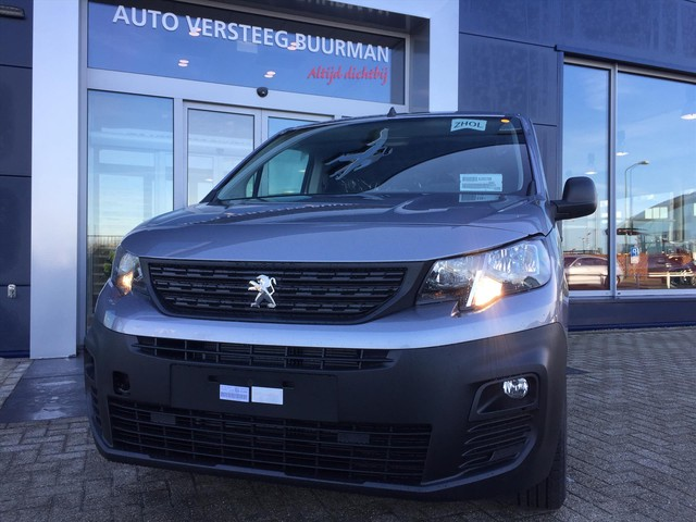 Peugeot Partner 1.6 BlueHDi 75pk 1000kg 3-zits Grip