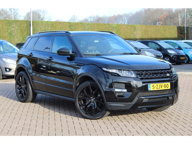Land Rover RR Evoque 2.0 Si 4WD Dynamic Automaat   Black Disign Pack   Panoramadak   Camera   61.021 km!