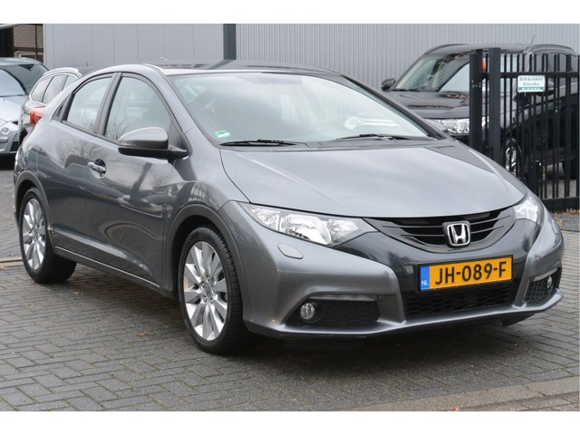 Honda Civic 1.4 100PK 6-VERS Sport BJ2014 47.029KM Stoelverw, Clima, Cruise, Camera, 17