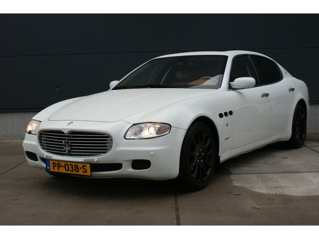 Maserati Quattroporte 4.2V8 Duo Select F1 FULL OPTIONS, SCHUIFDAK