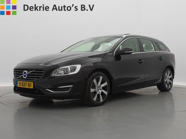 Volvo V60 2.4 D6 AWD *€17.500,- INCL.* Plug-In Hybrid Summum   SCHUIFDAK   LEDER   NAVI   DVD   PDC   EL. PAKKET   LMV