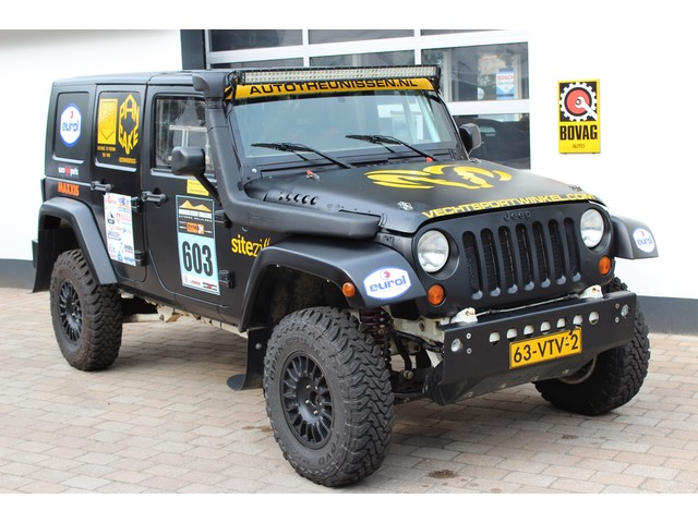 Jeep Wrangler Unlimited 2.8 CRD Full Rally Spec. Rolkooi