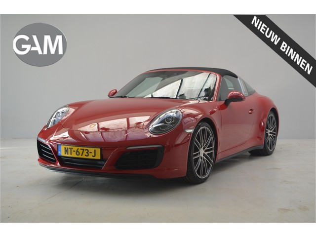 Porsche 911 3.0 Targa 4S Sportstoelen, Sport Chrono, Bose