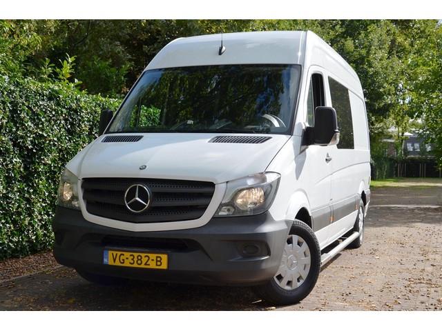 Mercedes-Benz Sprinter 310 CDI L2 H2 Automaat Rolstoelbus Elektr-rolstoel lift Airco Standkachel Navi Camera