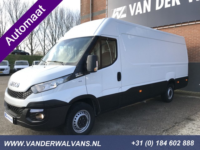Iveco Daily 35S13V 410 L3H2 AUTOMAAT Airco, 3.5T trekgewicht, Cruise, PDC