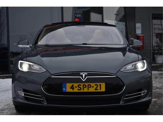 Tesla Model S 85 Performance 422 Pk,*EX BTW* Tech Pack, Luchvering, Panorama, 21