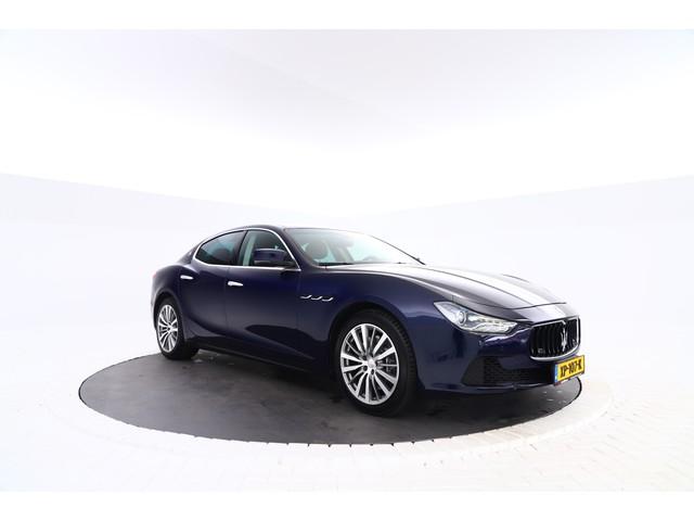 Maserati Ghibli 3.0 V6 D Automaat, winter en zomerset, navi, leer etc.