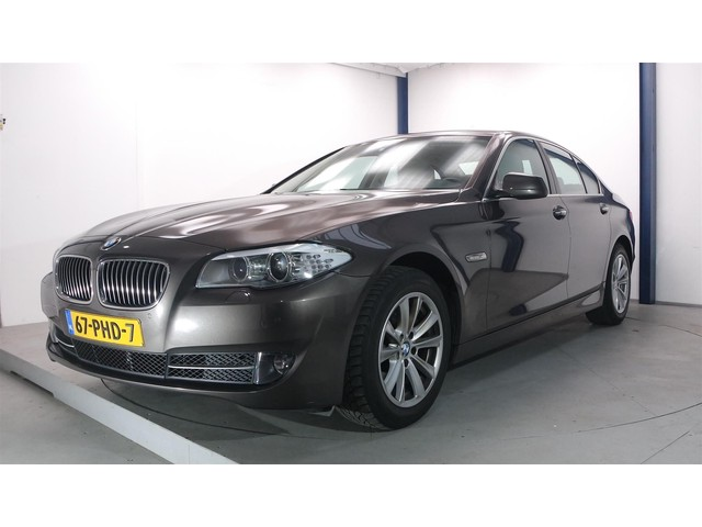 BMW 5 Serie 520d 181PK Automaat High Executive 1e eig + dealer auto