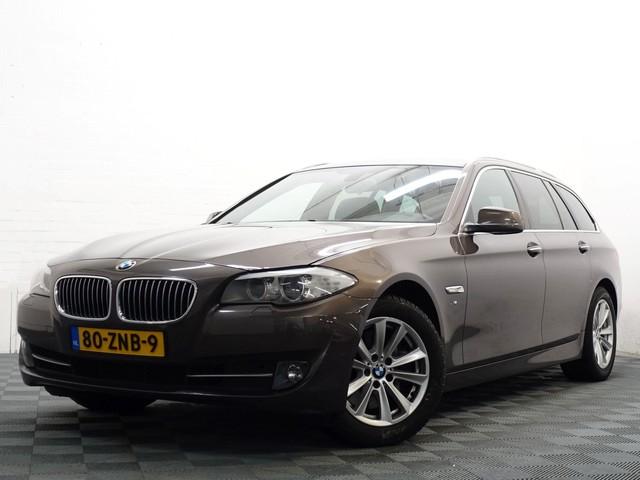 BMW 5 Serie Touring 535i HIGH EXE X-Drive 306PK Aut8, Navi Pro, Leer, Xenon, Full