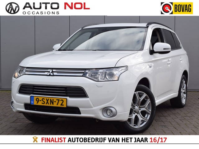 Mitsubishi Outlander 2.0 PHEV Instyle Incl 14995,- Navi Cruise Climate Stoelverw Trekh Leder Keyless Camera Excl BTW