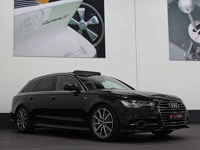 Audi A6 Avant 3.0 TDI 272pk Quattro S-LINE.   Adaptieve cruise   Panorama   Memory   Led   Bose   Camera.