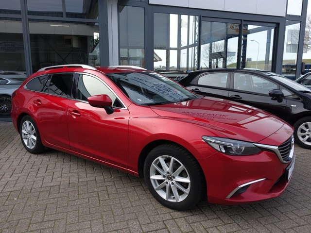 Mazda 6 2.5 SKYACTIV AUTOMAAT NAVI LEER zondag geopend