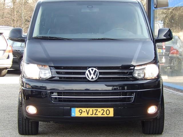 Volkswagen Transporter 2.0 TDI 180PK DSG LANG LUXE DUBBELE CABINE, LEDER, OPEN DAK, 2X SCHUIFDEUR