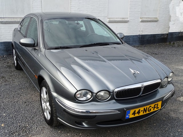 Jaguar X-Type 2.0 V6 Business Edition Ecc-Pdc-Nieuwstaat-Youngtimer