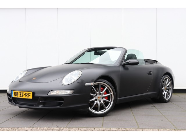 Porsche 911 Cabrio 3.8 Carrera S dealer onderhouden | 355 PK | NAVI | LEDER | CLIMATE | LMV |