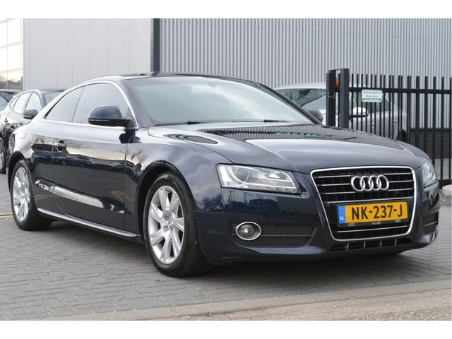 Audi A5 Coupe 3.2 V6 266PK FSI Automaat Pro Line Leer, Stoelverw, Clima, LED, Xenon, Zeer Mooi