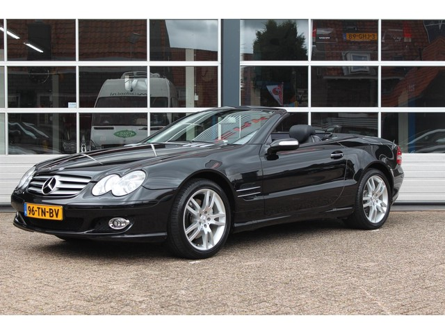 Mercedes-Benz SL-Klasse 350 (1e eigenaar,Navigatie,Leder, Stoelverwarming koeling,LM-velgen,F1 flippers,MET GRARANTIE*)
