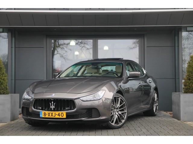 Maserati Ghibli 3.0 V6 Automaat | Skyhook suspension  | Schuifdak | Leder ,