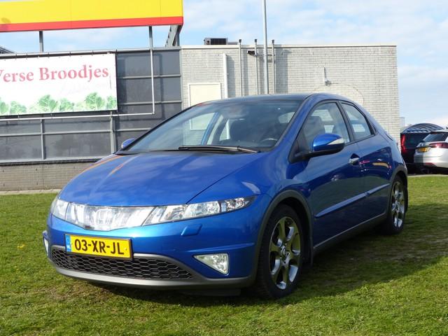 Honda Civic 1.8i 140 pk Executive 5-deurs - 6-Bak, Xenon, Panoramadak, Airco ECC, CruiseControl, Trekhaak, Stoelverwarming, 17 inch velgen G
