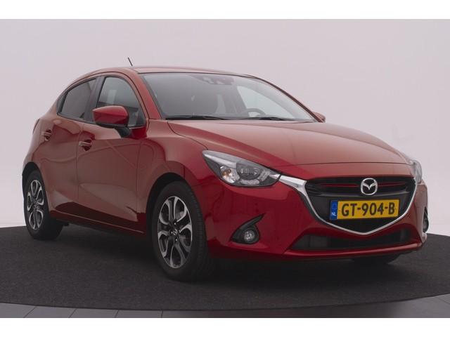 Mazda 2 1.5 Skyactiv-G GT-M   Navi   Airco   Cruise   Lichtmetaal