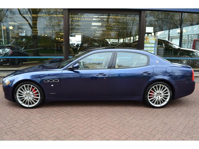 Maserati Quattroporte 4.7 Sport GT S AUTOMAAT  ECC  LEDER  NAVIGATIE  UNIEK 39.056 KM ORIGINEEL!