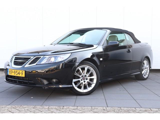 Saab 9-3 Cabrio 1.8t Vector | NAVI | LEDER | CAMERA | CRUISE | CLIMATE | LMV | 2E PAASDAG GEOPEND van 10.30-17.00